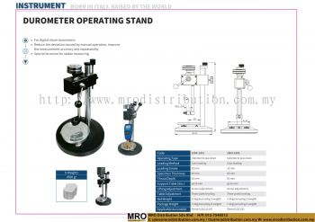 Durometer Operating Stand