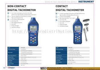 Non-Contact Digital Tachometer & Contact Digital Tachometer