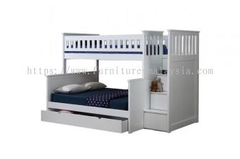 HESTIA TRIPLE BUNK BED EXCLUDES DRAWER BOX