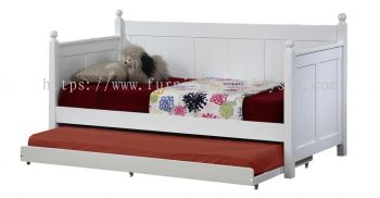 LW HESTIA SINGLE DAYBED WITH SINGLE PULL OUT BED