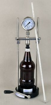 CO2 Easy with Analog Pressure Indicator & Thermometer