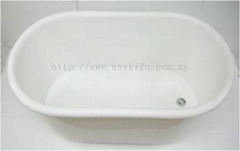 46'' Bath Tub White
