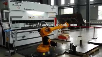 Robot Bending Handling Automation