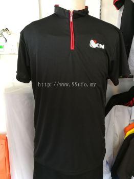 micro fiber high neck Polo