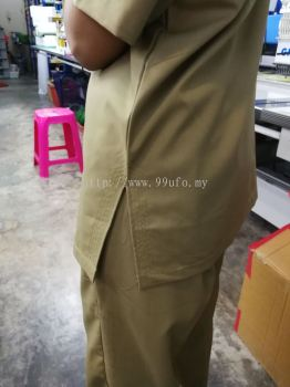 Spa Uniform Blouse and Pant