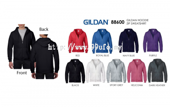 Gildan Full Zip Hoodies