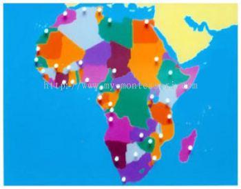 Africa Puzzle Map (CM070)