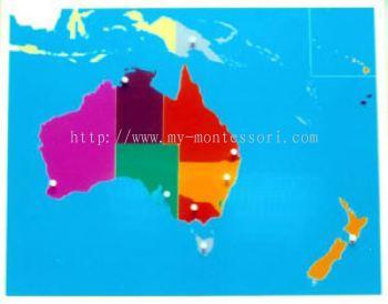 Australia Puzzle Map (CM050)