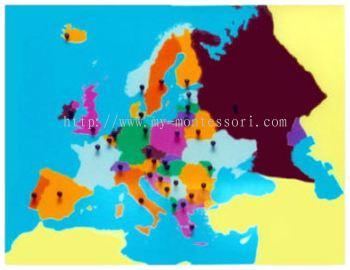 Europe Puzzle Map (CM090)