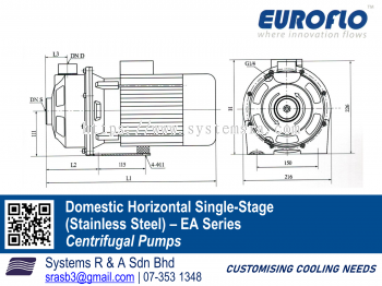 Domestic Horizontal Single-Stage (Stainless Steel)