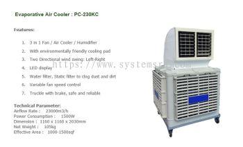 Portable Type Evaporative Air Cooler