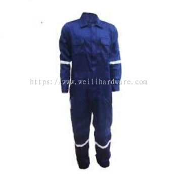 AIM FRC COVERALL-1 LINE DARK GREEN XL