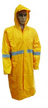 AIM HIGH VISIBILITY RAINCOAT RC303Y