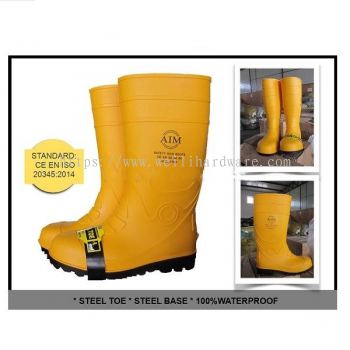 AIM SAFETY RAIN BOOTS 8102