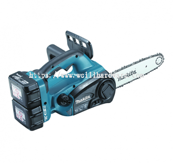 "DUC252PM4/RF2/Z 10"" MAKITA CORDLESS CHAIN SAW 18Vx2"