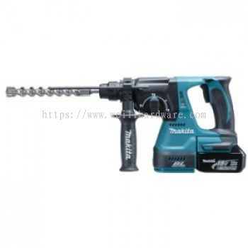 "DHR242RME/RFE/Z 15/16"" MAKITA CORDLESS COMBINATION HAMMER 18V"