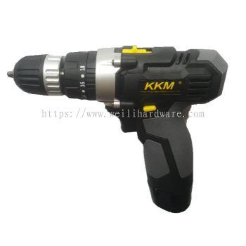KKM CDL138 3 FUNCTION CORDLESS DRILL 12V