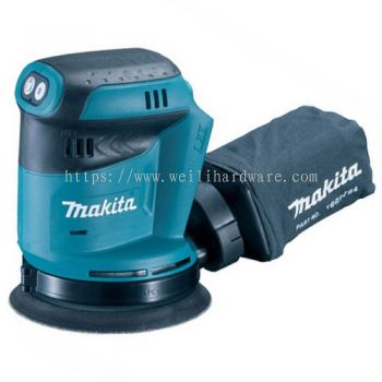 "DBO180Z 5"" MAKITA CORDLESS RANDOM ORBIT SANDER 18V"