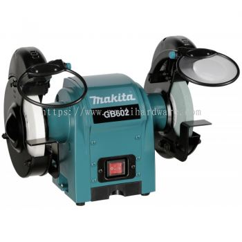 "GB602 6"" MAKITA BENCH GRINDER 250W"