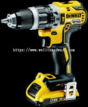 Dewalt DCD796M2 Brusless Compact Hammer Drill Driver 18V