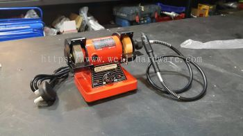 "Heli 3"" Mini Bench Grinder 200W"