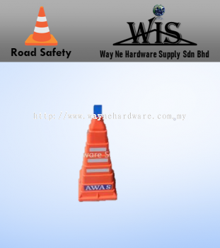Collapsible PE Traffic Cone