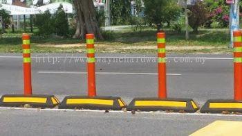TPU Post Traffic Lane Block
