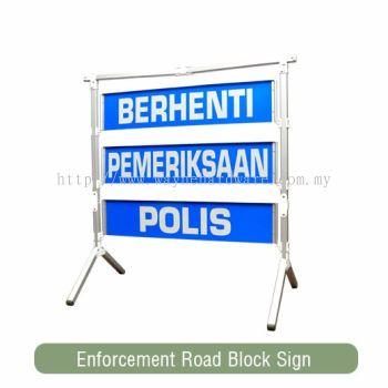 Police Portable Signbord