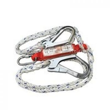 Polyamide Twin Lanyard with EAbsorber