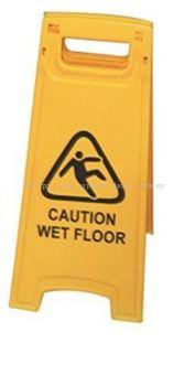 Caution Wet Floor Standee