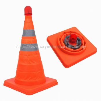 FOLDABLE SAFETY  CONE
