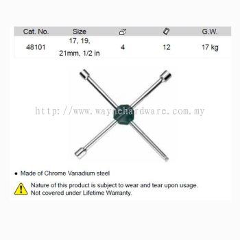 48101 - Cross Wheel Wrench