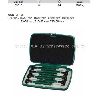 09315 - PC Precision Torx Screwdriver Set