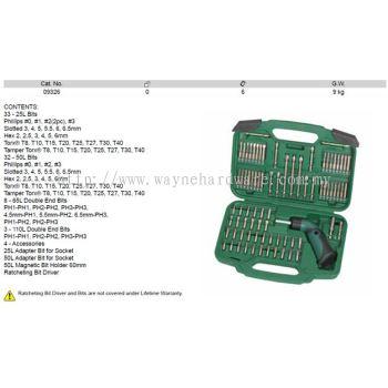 09326 - Pc Ratcheting Bit Driver Set
