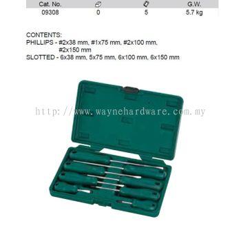 09308 - Pc P serieS Combination Screwdriver Set