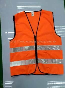 Safety Vest 2 Reflective Tape with Pocket