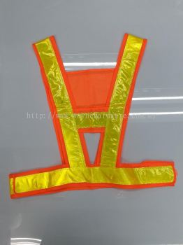 A SHAPE SAFETY VEST