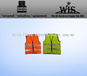 Safety Vest 2 Reflective Tape with Pocket