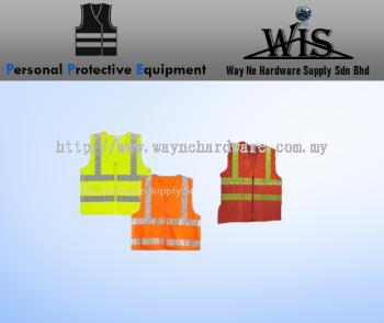 Safety Vest 4 Reflective Tape