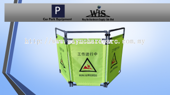PVC Foldable Barricade
