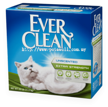 Ever Clean Extra Strength Unscented (14lbs / 25lbs)