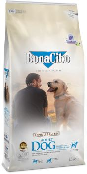 BonaCibo Adult Dog Chicken With Anchovy & Rice 15kg