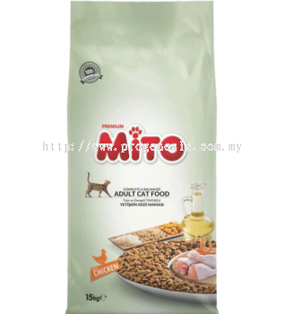 Mito Premium Adult Cat Food 15kg
