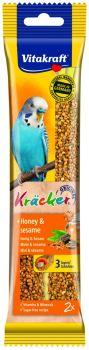 Vitakraft Kracker Honey & Sesame Budgie (2pcs)