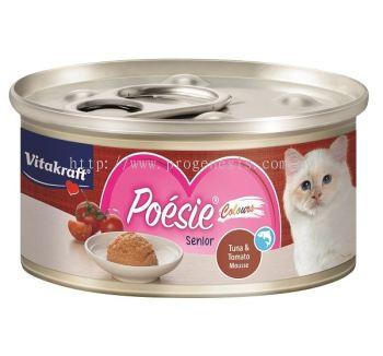 Vitakraft Po��sie Colours Tuna & Tomato Mousse (Senior)