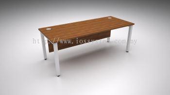 RECTANGULAR TABLE WITH U METAL LEG