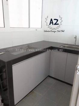 Wet Kitchen Cabinet in Seri Kembangan / Serdang