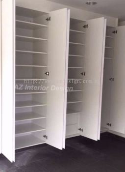 Built In Shoe Cabinet