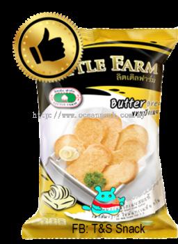 #LittleFarm#CrispyBread#Butter