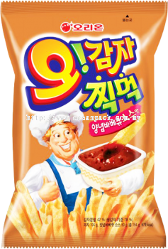 #POTATO CHIPS - BBQ (ORION)